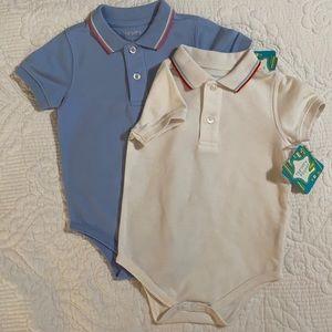 Bundle! Nursery Rhymes onesies 18mo blue white